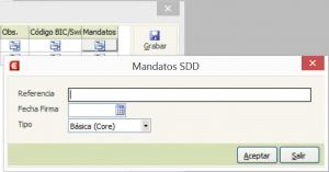 Mandatos SSD